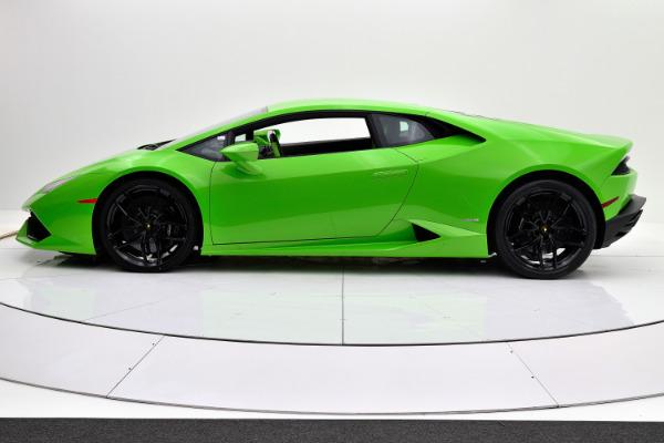Used 2015 Lamborghini Huracan LP6104 for sale Sold at F.C. Kerbeck Rolls-Royce in Palmyra NJ 08065 3