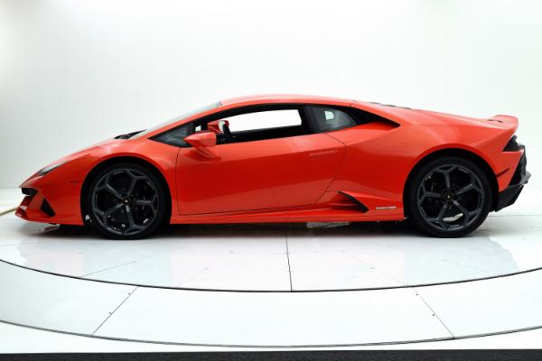 New 2020 Lamborghini Huracan EVO for sale $313,019 at F.C. Kerbeck Rolls-Royce in Palmyra NJ 08065 3