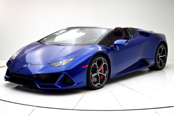 New New 2020 Lamborghini Huracan EVO Spyder for sale $356,325 at F.C. Kerbeck Rolls-Royce in Palmyra NJ