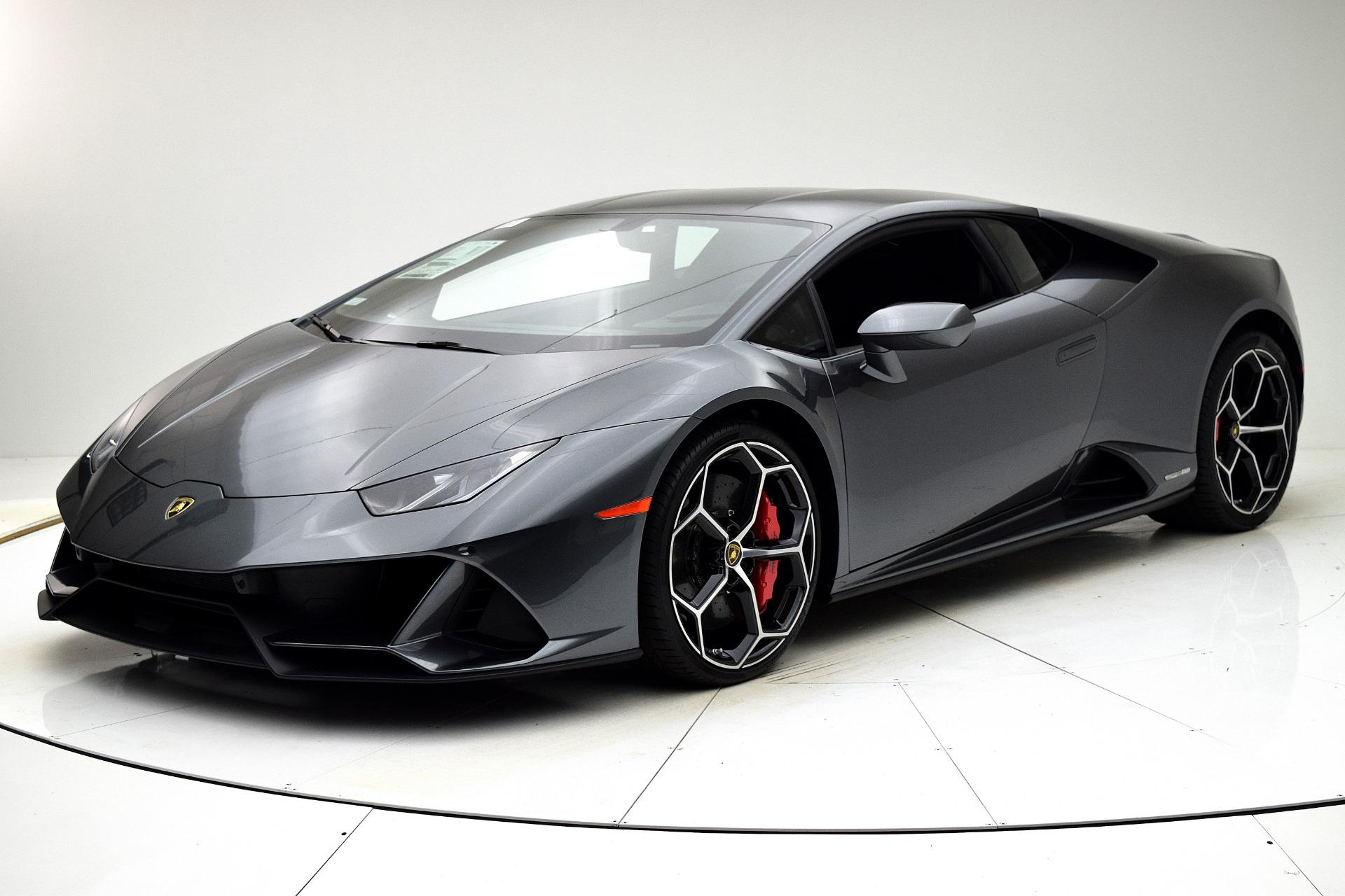 New 2020 Lamborghini Huracan EVO Coupe for sale $293,519 at F.C. Kerbeck Rolls-Royce in Palmyra NJ 08065 2
