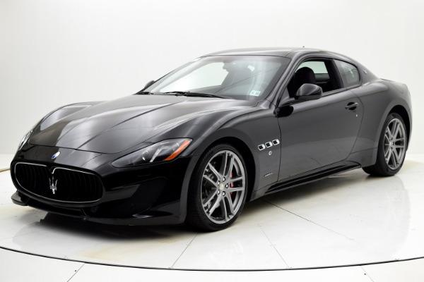 Used Used 2016 Maserati GranTurismo Sport for sale $55,880 at F.C. Kerbeck Rolls-Royce in Palmyra NJ