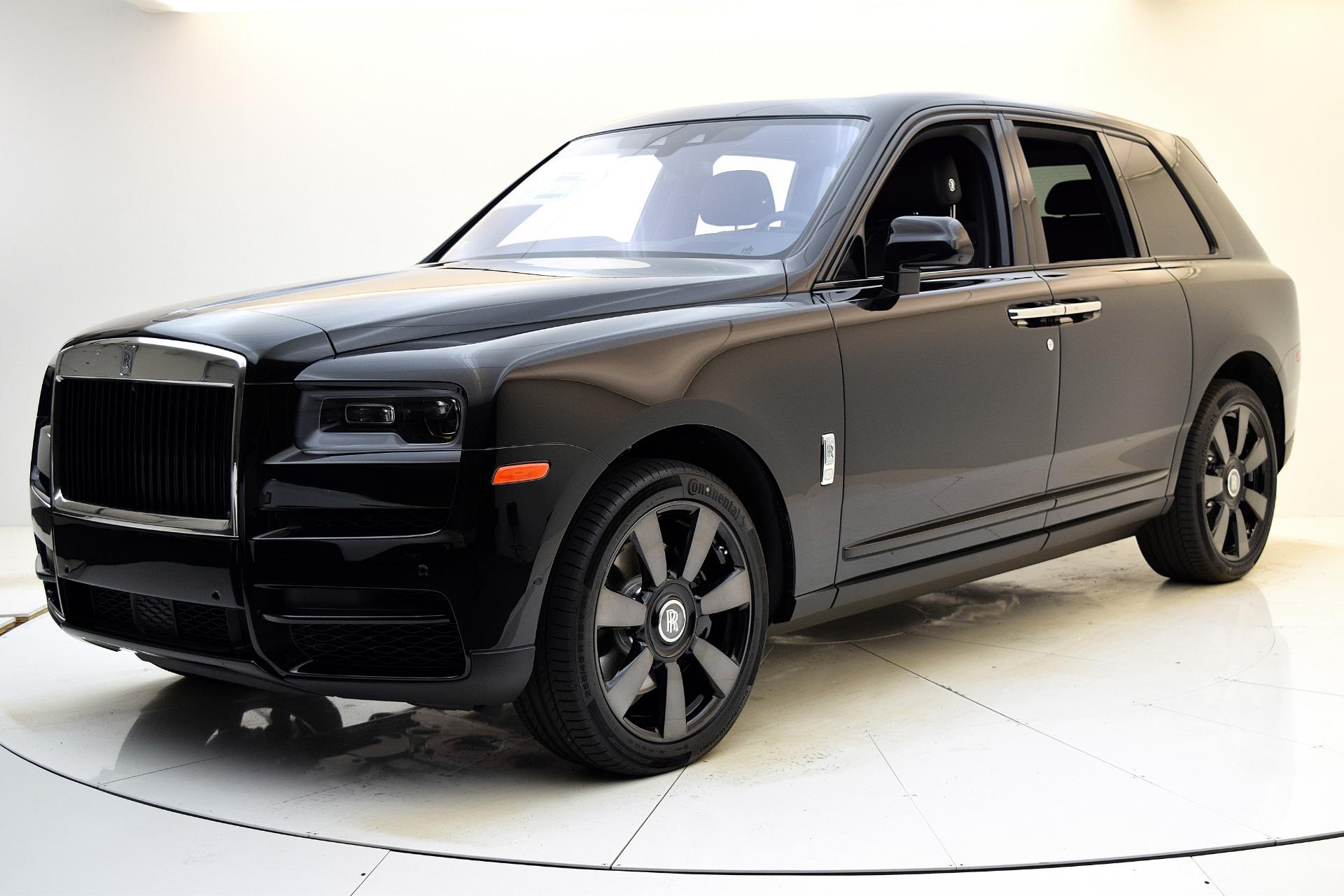 New 2021 Rolls-Royce Cullinan for sale $373,900 at F.C. Kerbeck Rolls-Royce in Palmyra NJ 08065 2