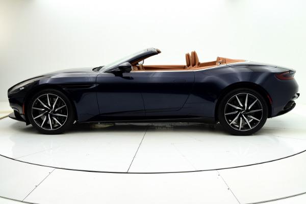 New 2021 Aston Martin DB11 Volante for sale $253,986 at F.C. Kerbeck Rolls-Royce in Palmyra NJ 08065 3