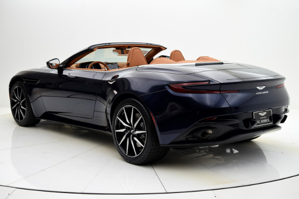 New 2021 Aston Martin DB11 Volante for sale $253,986 at F.C. Kerbeck Rolls-Royce in Palmyra NJ 08065 4