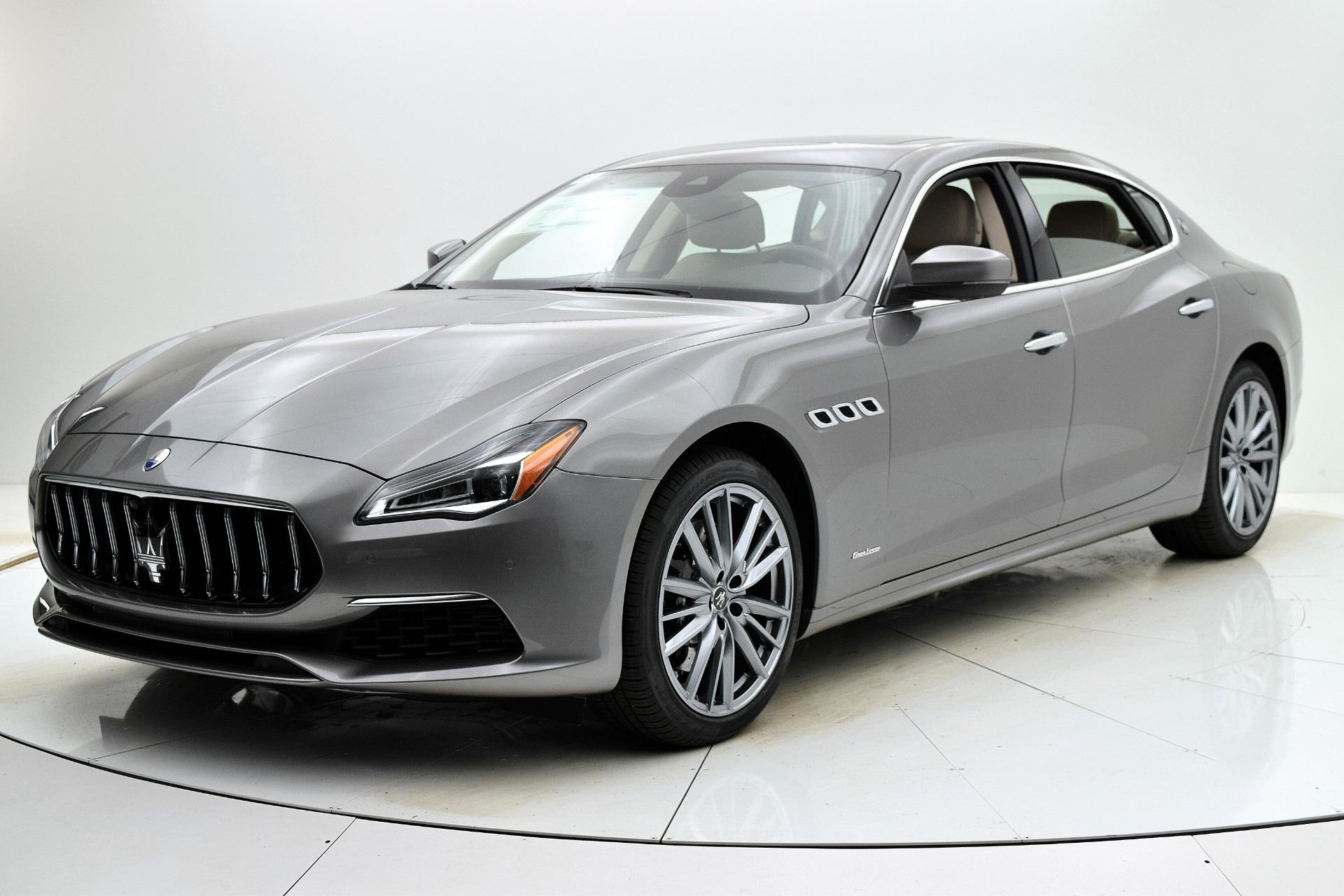 New 2021 Maserati Quattroporte SQ4 GranLusso for sale Sold at F.C. Kerbeck Rolls-Royce in Palmyra NJ 08065 2