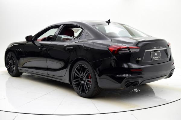 New 2021 Maserati Ghibli S Q4 for sale Sold at F.C. Kerbeck Rolls-Royce in Palmyra NJ 08065 4