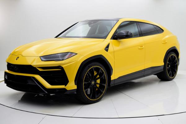 New New 2021 Lamborghini Urus Pearl Capsule for sale Call for price at F.C. Kerbeck Rolls-Royce in Palmyra NJ