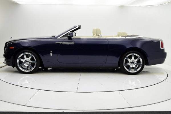 Used 2016 Rolls-Royce Dawn for sale $255,880 at F.C. Kerbeck Rolls-Royce in Palmyra NJ 08065 3