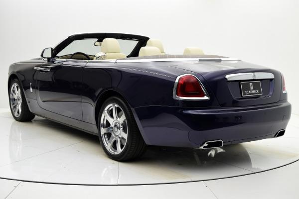 Used 2016 Rolls-Royce Dawn for sale $255,880 at F.C. Kerbeck Rolls-Royce in Palmyra NJ 08065 4