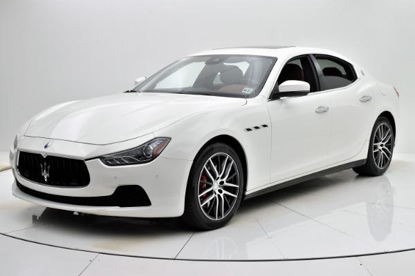 Used 2017 Maserati Ghibli S Q4 for sale Sold at F.C. Kerbeck Rolls-Royce in Palmyra NJ 08065 2