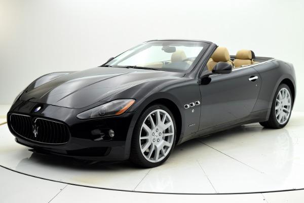 Used Used 2011 Maserati GranTurismo Convertible for sale $57,880 at F.C. Kerbeck Rolls-Royce in Palmyra NJ