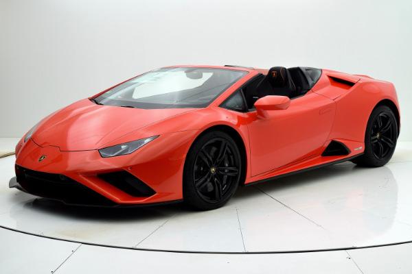 New 2021 Lamborghini Huracan EVO RWD Spyder for sale Call for price at F.C. Kerbeck Rolls-Royce in Palmyra NJ 08065 2