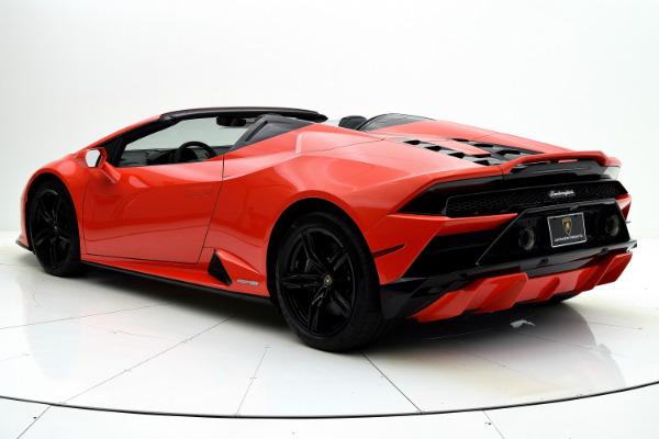 New 2021 Lamborghini Huracan EVO RWD Spyder for sale Call for price at F.C. Kerbeck Rolls-Royce in Palmyra NJ 08065 4