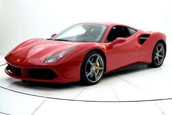 Used Used 2019 Ferrari 488 GTB for sale <s>$332,489</s> | <span>$294,880</span> at F.C. Kerbeck Rolls-Royce in Palmyra NJ