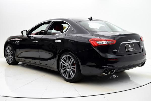Used 2018 Maserati Ghibli S Q4 for sale $59,880 at F.C. Kerbeck Rolls-Royce in Palmyra NJ 08065 4
