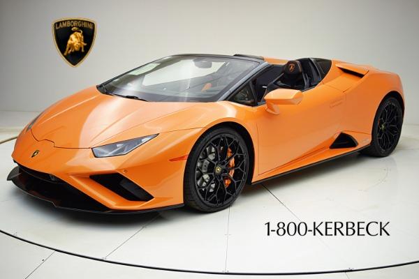 Used 2020 Lamborghini Huracan EVO Spyder RWD for sale $319,880 at F.C. Kerbeck Rolls-Royce in Palmyra NJ 08065 2