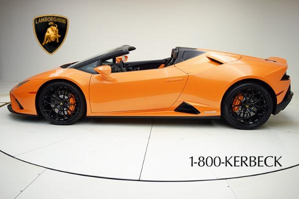 Used 2020 Lamborghini Huracan EVO Spyder RWD for sale $319,880 at F.C. Kerbeck Rolls-Royce in Palmyra NJ 08065 3