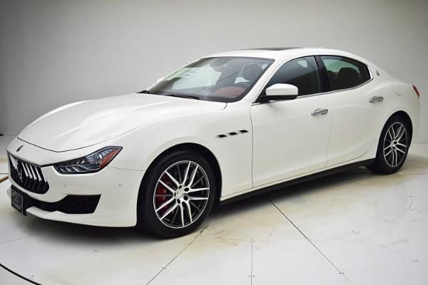 Used Used 2018 Maserati Ghibli S Q4 for sale $59,880 at F.C. Kerbeck Rolls-Royce in Palmyra NJ