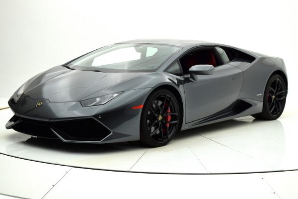 Used 2015 Lamborghini Huracan LP610-4 for sale Sold at F.C. Kerbeck Rolls-Royce in Palmyra NJ 08065 2