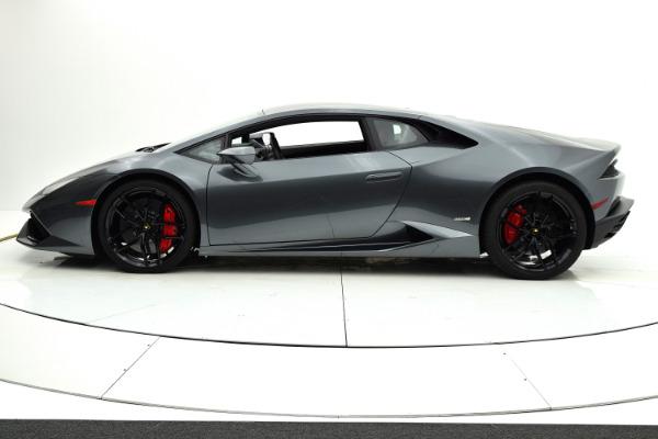 Used 2015 Lamborghini Huracan LP610-4 for sale Sold at F.C. Kerbeck Rolls-Royce in Palmyra NJ 08065 3