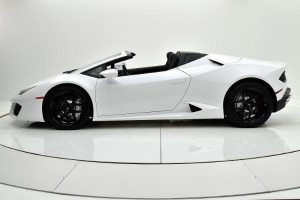 Used 2018 Lamborghini Huracan LP580-2 Spyder for sale $229,880 at F.C. Kerbeck Rolls-Royce in Palmyra NJ 08065 3