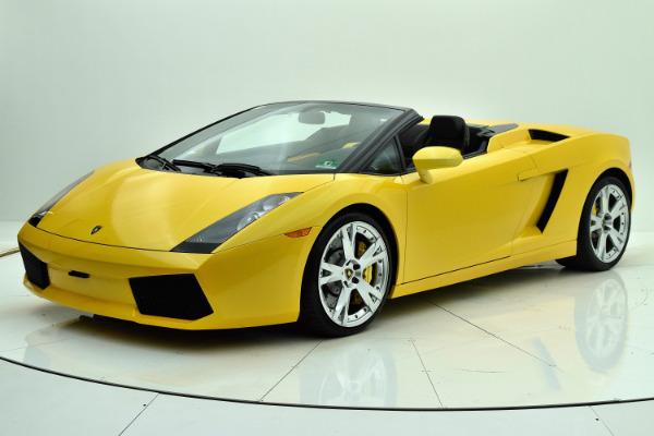 Used 2008 Lamborghini Gallardo Spyder for sale Sold at F.C. Kerbeck Rolls-Royce in Palmyra NJ 08065 2