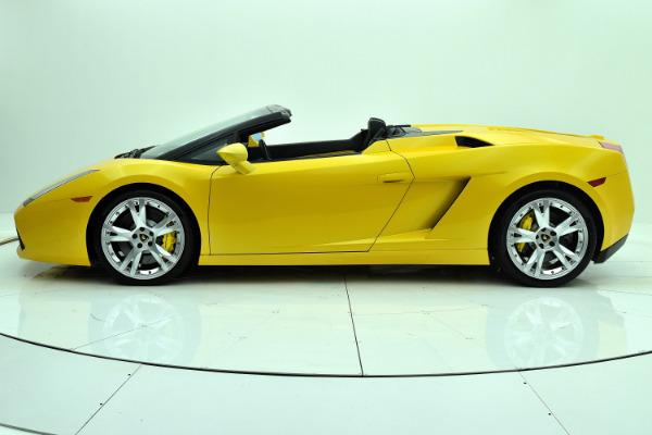Used 2008 Lamborghini Gallardo Spyder for sale Sold at F.C. Kerbeck Rolls-Royce in Palmyra NJ 08065 3