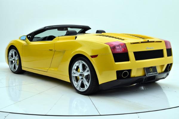 Used 2008 Lamborghini Gallardo Spyder for sale Sold at F.C. Kerbeck Rolls-Royce in Palmyra NJ 08065 4