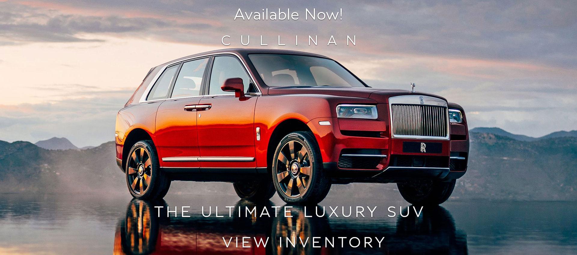 Rolls Royce Cullinan Best Car Dealership